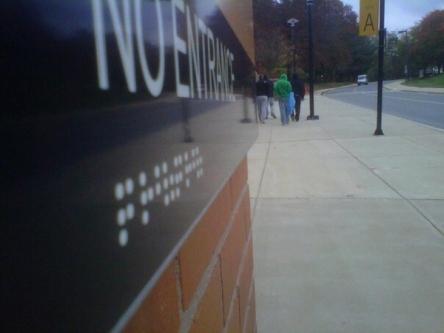 Braille Fail - No Entrance???